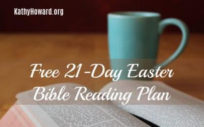 21-Day Easter Bible Reading Plan ✝️